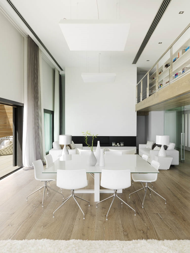 world of architecture modern home with pure white interior in almunecar granada
