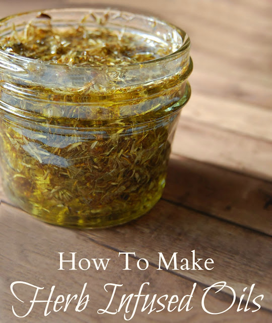 How to Make Herb Infused Oils