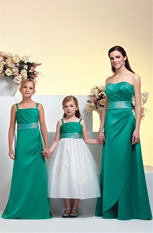 cute and beautiful junior bridesmaid dresses