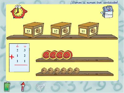 Sumar tres cantidades,cálculo,suma,matemáticas,operaciones