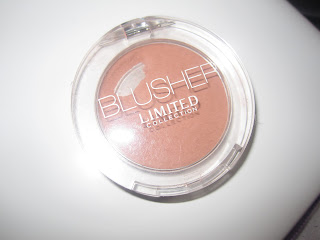 marsk and spencers, m&s, Limited collection, blush, powder blush, blog, cinnamon, swatch, review