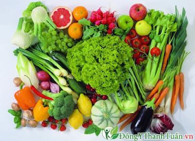Chữa nóng trong hiệu quả với rau xanh