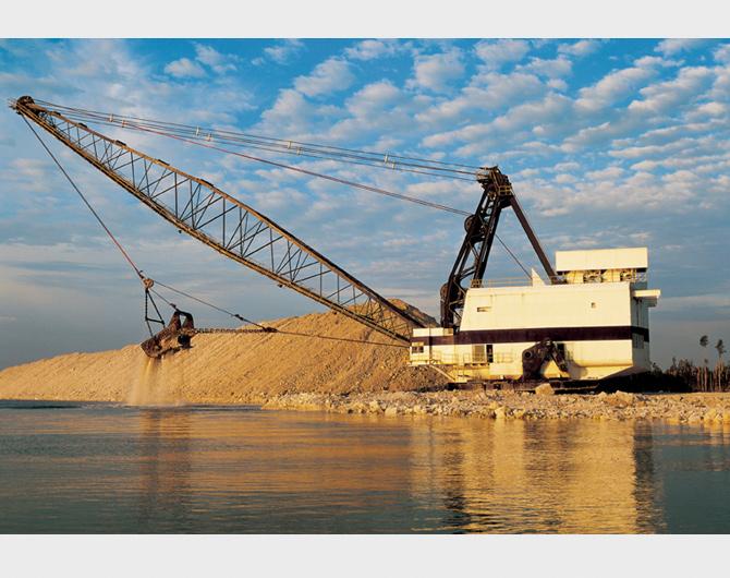 Excavation E Ment Drag Line Excavator