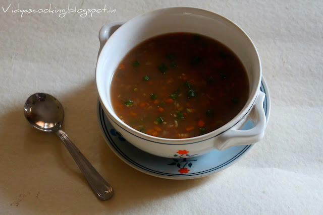 cookingmyway: Restaurant Style Hot and Sour Soup (Indo Chinese Recipe)