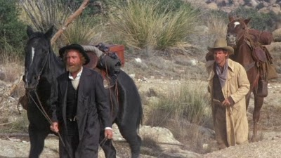 Gene Wilder and Harrison Ford trek across the country in Robert Aldrich's THE FRISCO KID