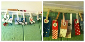 Christmas Countdown, homemade advent calendar, christmas activities for kids, christmas crafts for kids, ready set read, ready-set-read.com, photos