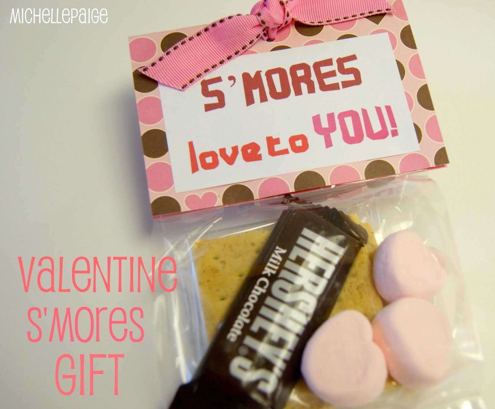 michelle paige blogs: Valentine S'mores Gift