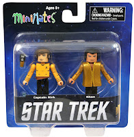 Diamond Select Star Trek Legacy Minimates - Captain Kirk & Khan