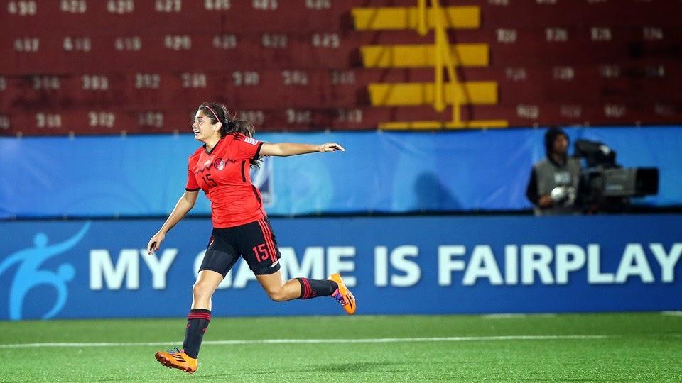 Copa Mundial Femenina Sub-17 Costa Rica 2014: México vs. China | Ximinia