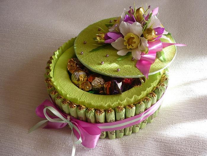 Торт из шоколадок мастер