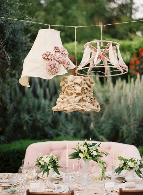 A casa : Lampadari originali fai da té