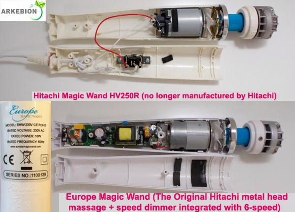 Hitchi magic wand
