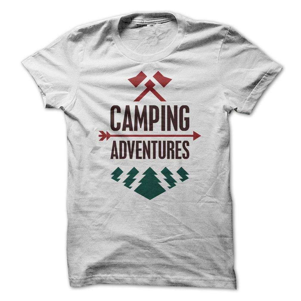 Camping T Shirts
