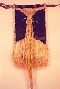 The Tipiti is a hand-made fiber artifact, made by Brazilian indians. My Tipiti has wood inside.