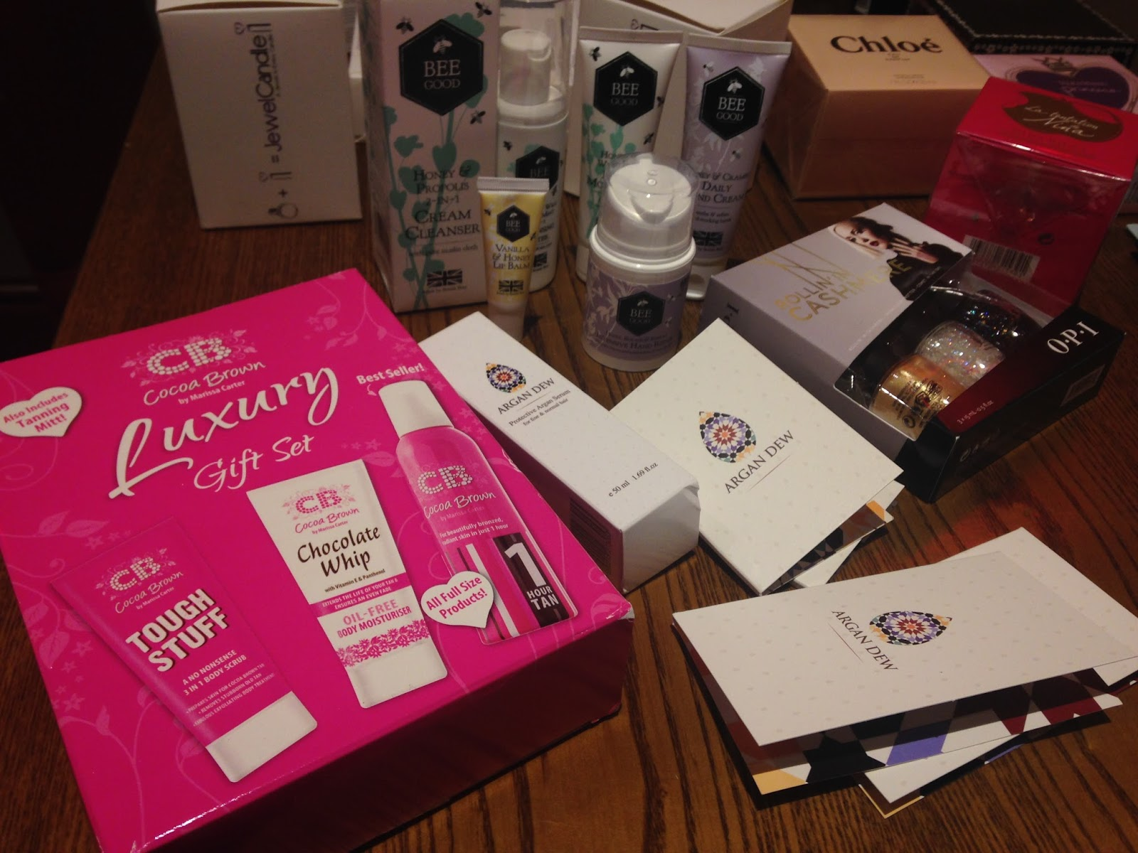 #SheffieldBBloggers raffle prizes, sheffield bloggers event