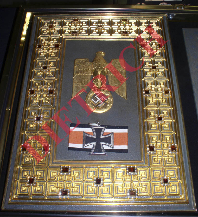 nazi celebrity relics real or fake the grand cross of the iron cross 1939 part 3. Black Bedroom Furniture Sets. Home Design Ideas