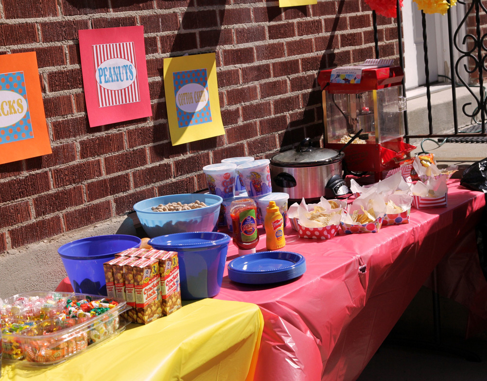 Kate Went All Out With The Food She Had Corn Dogs Nachos Popcorn Cracker Jacks Peanuts Cotton Candy And Just About Any Other Delicious Treat That You