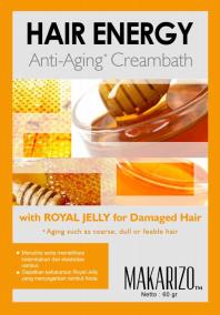 Royal Jelly untuk perawatan rambut rapuh dari Makarizo