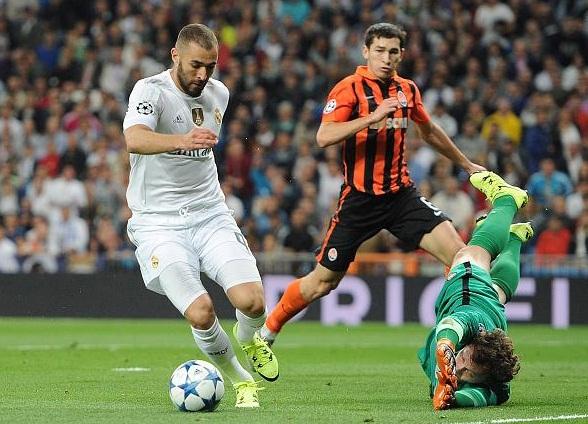 Real Madrid Sikat Shakthar Donetsk 4 gol Tanpa Balas