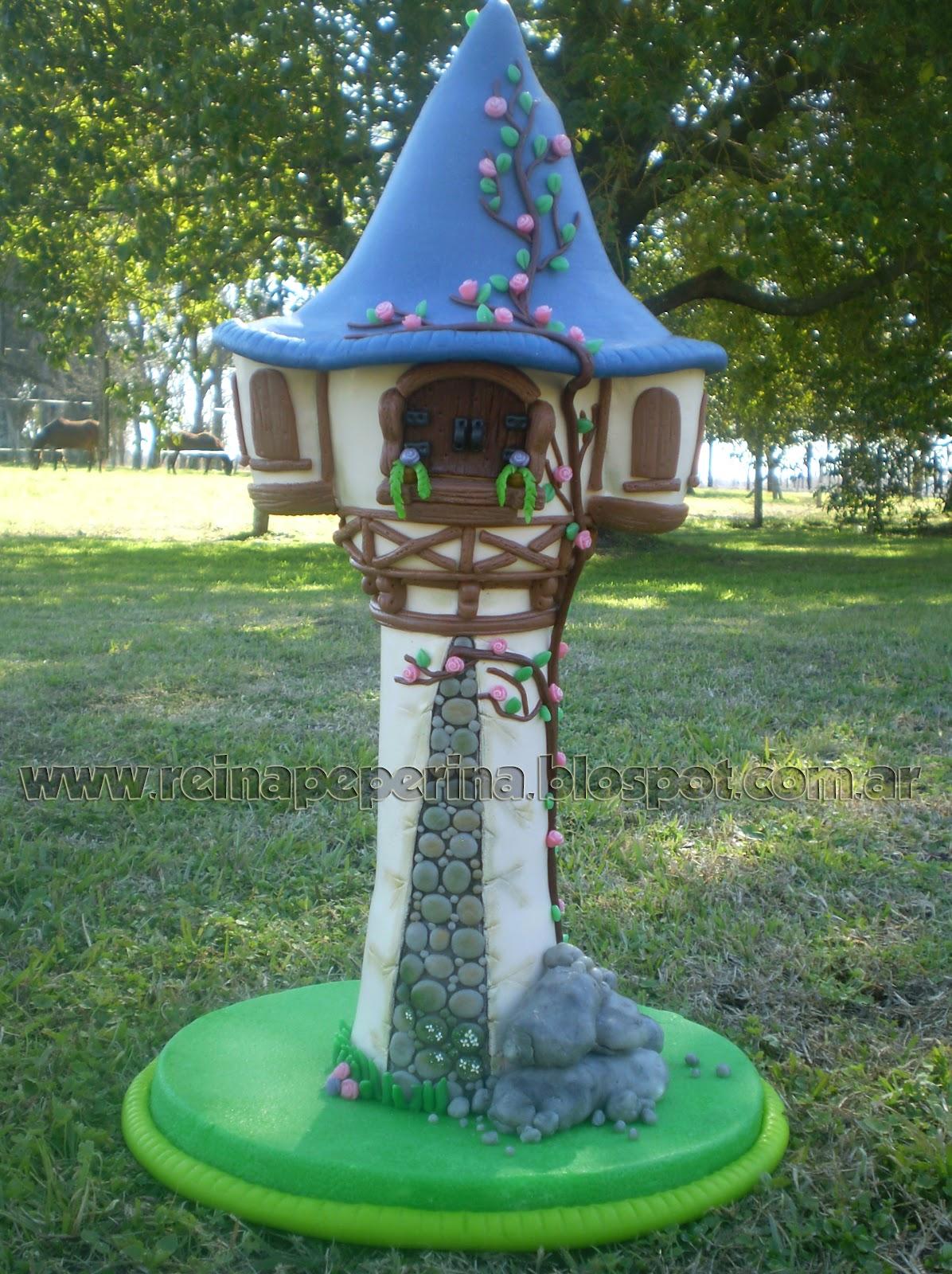 Nueva Torre De Rapunzel En Porcelana Fr  A