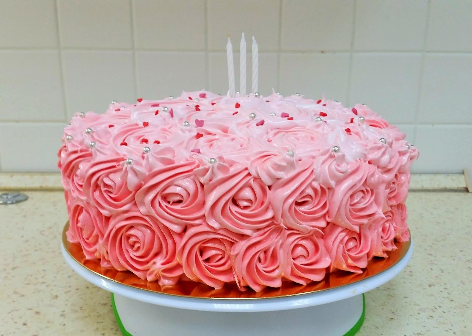 Торт кремовый на день рождения девушке фото