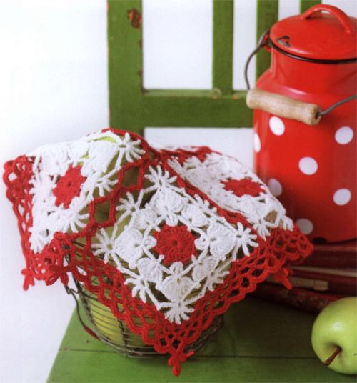 Салфеточка для кухни крючком: схемы вязания и методика отделки