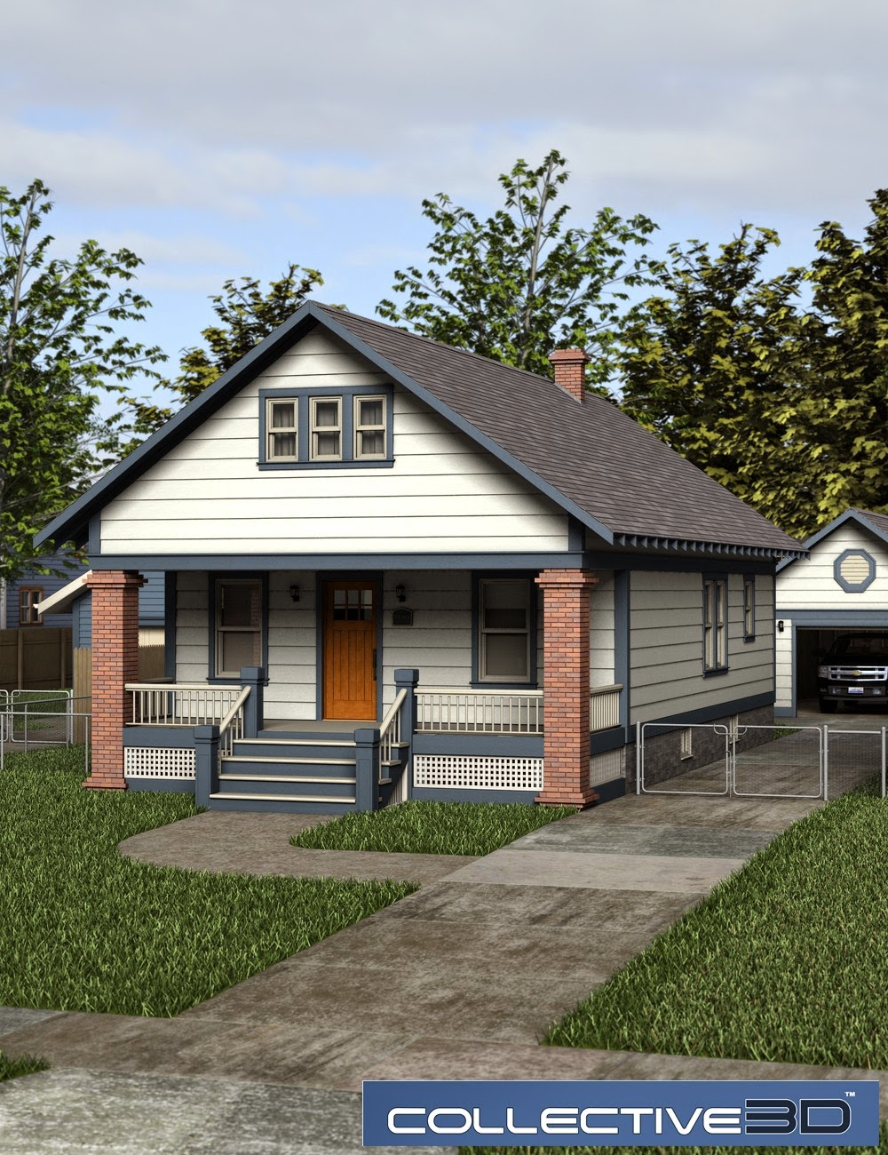 Collective3d Modern Home Deluxe 1