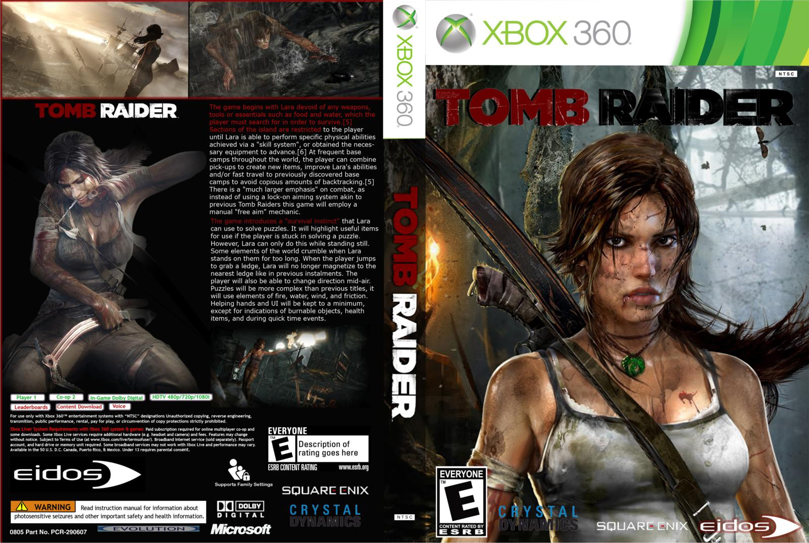 Download - Tomb Raider (2013) - XBOX 360 - ISO