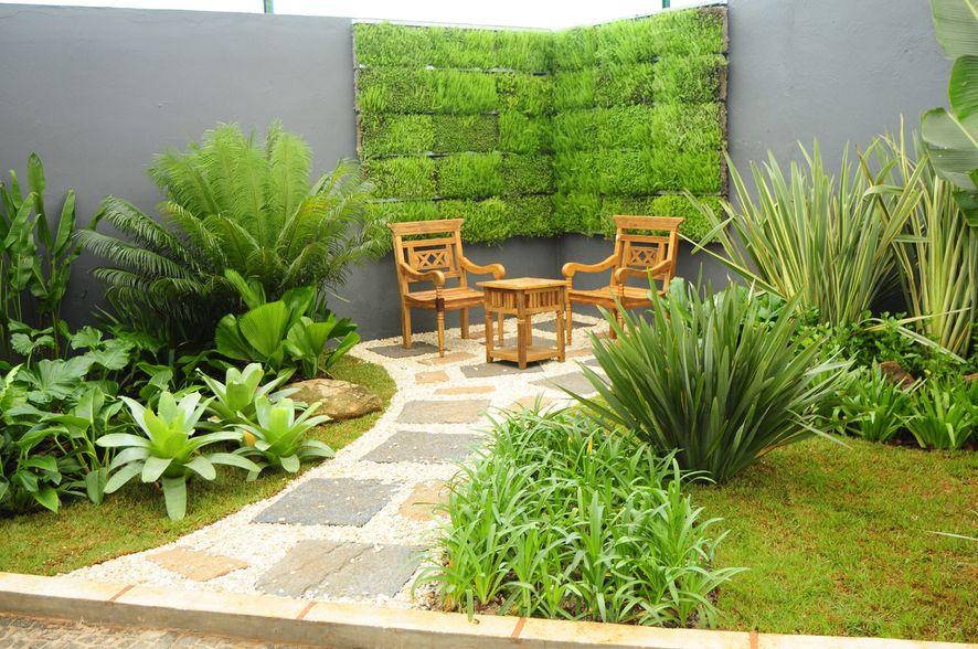 fotos jardim paisagismo:Garden Design Ideas with Pebbles