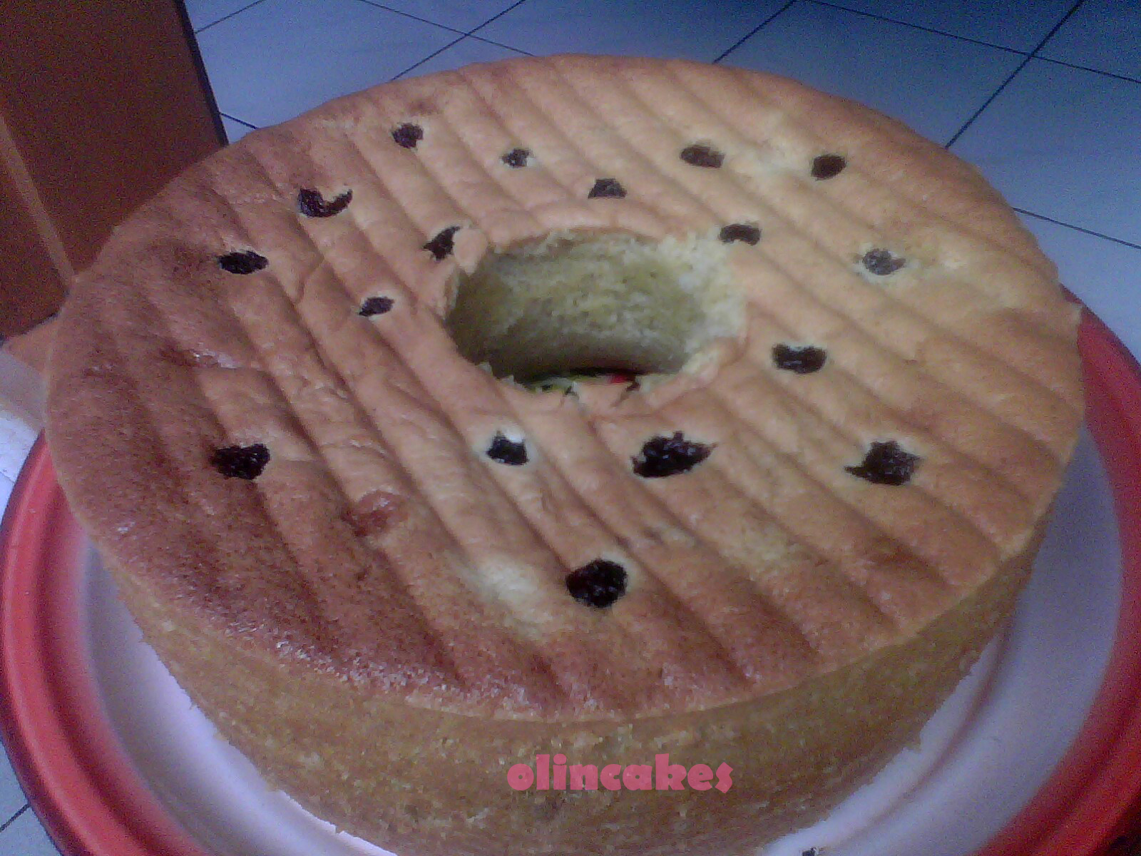 cake pisang oven