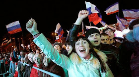 95.7% SAY YES IN CRIMEAN REFERENDUM: