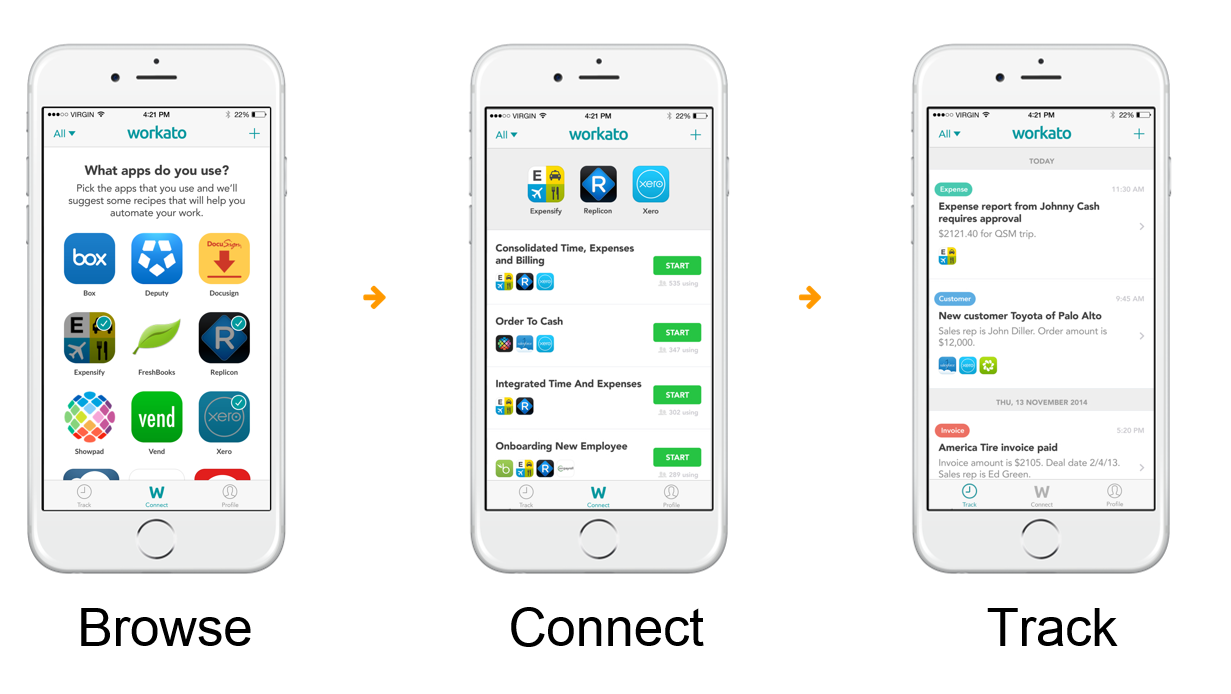 First Take - Apple wants to change the Future of Work. Works with cloud apps vendors and Workato