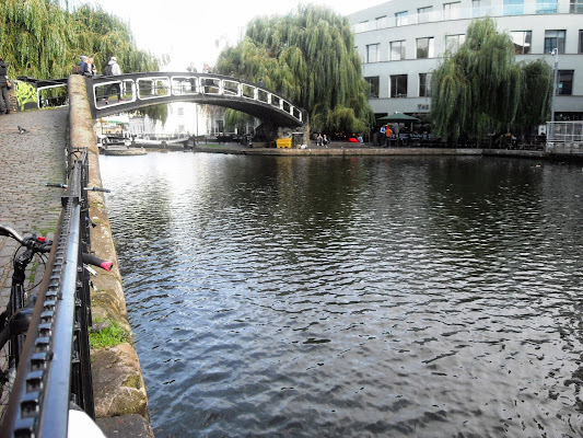 Camden Lock Bridge River