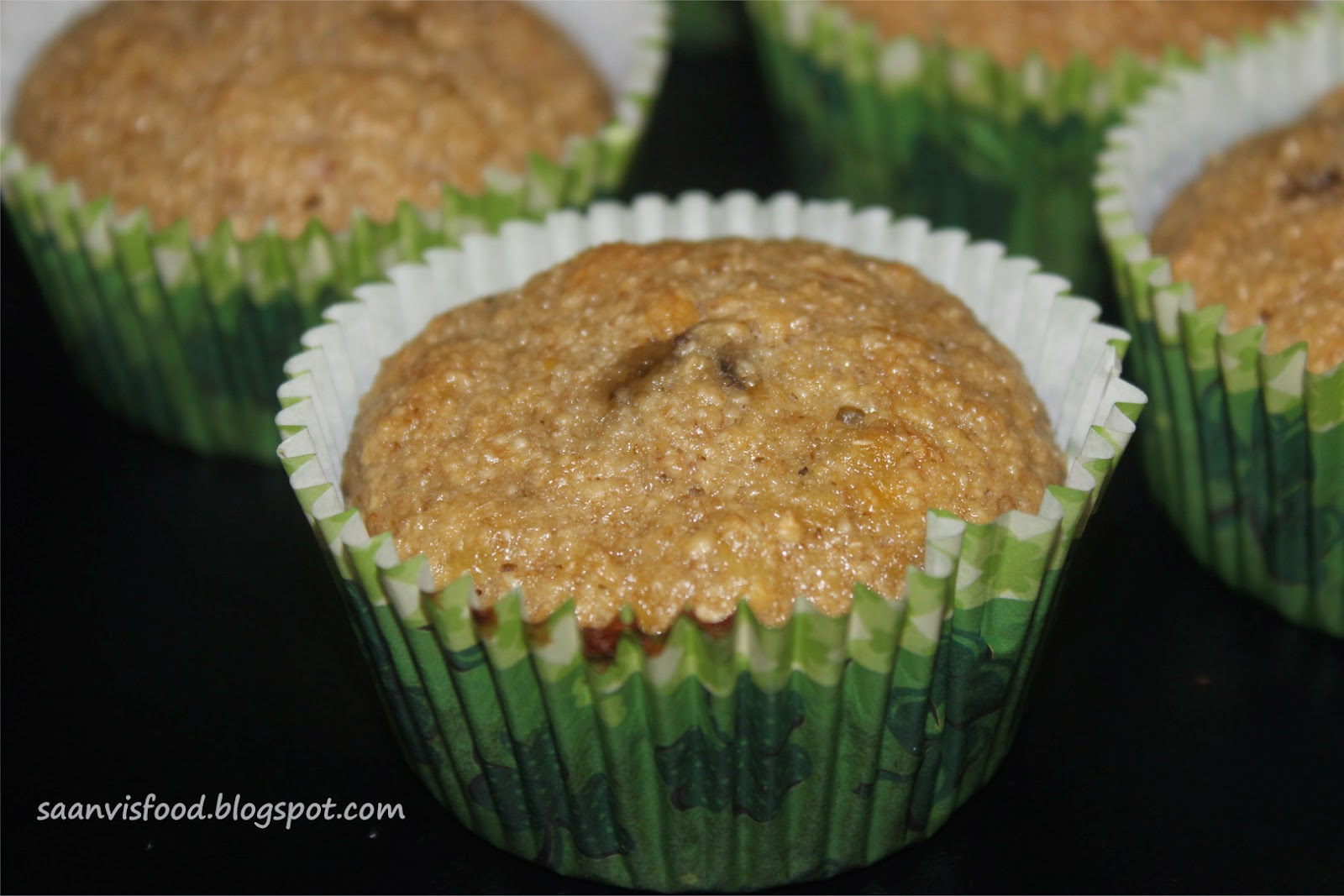 Oatmeal Banana Cupcake without Butter