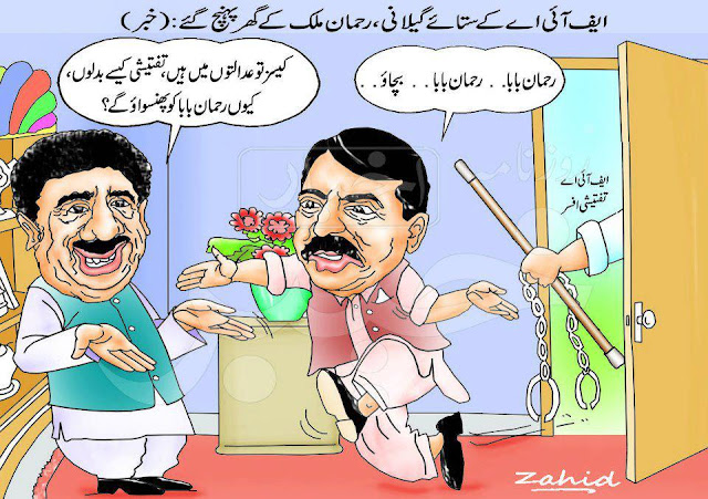 Asif Ali Zardari and Yousaf Raza Gillani Funny Wallpapers