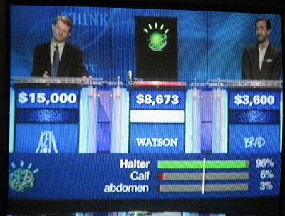 jeopardy contest Ken Jennings, Brad Rutter, Watson