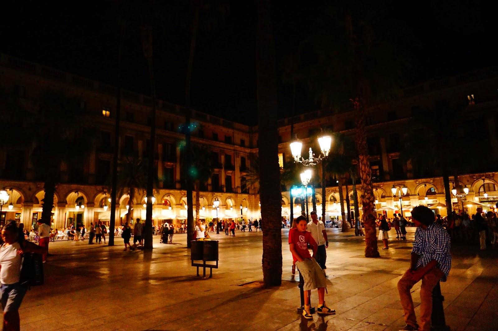 Ночная-Барселона