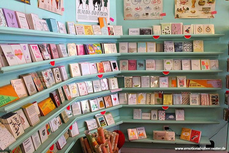 Letterpress, ein süßer laden mit Schönen Karten.