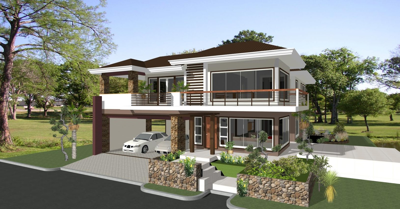 House designs in the philippines in iloilo by erecre group Best modern home plans