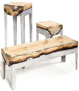 I can't believe that's aluminum and wood!! So innovative!