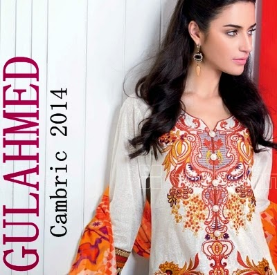 Gul Ahmed Mid Summer Cambric 2014