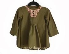 Baba Gömleğinden Kızına nasıl Elbise/Tunik dikilir
