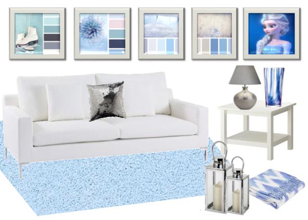 hd interiors disney s frozen inspired home decor