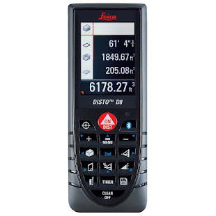 Leica DISTO 764558 D8 Hand Held Laser Distance Measurer $ 950