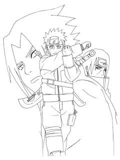 Uzumaki Naruto Coloring Pages Realistic