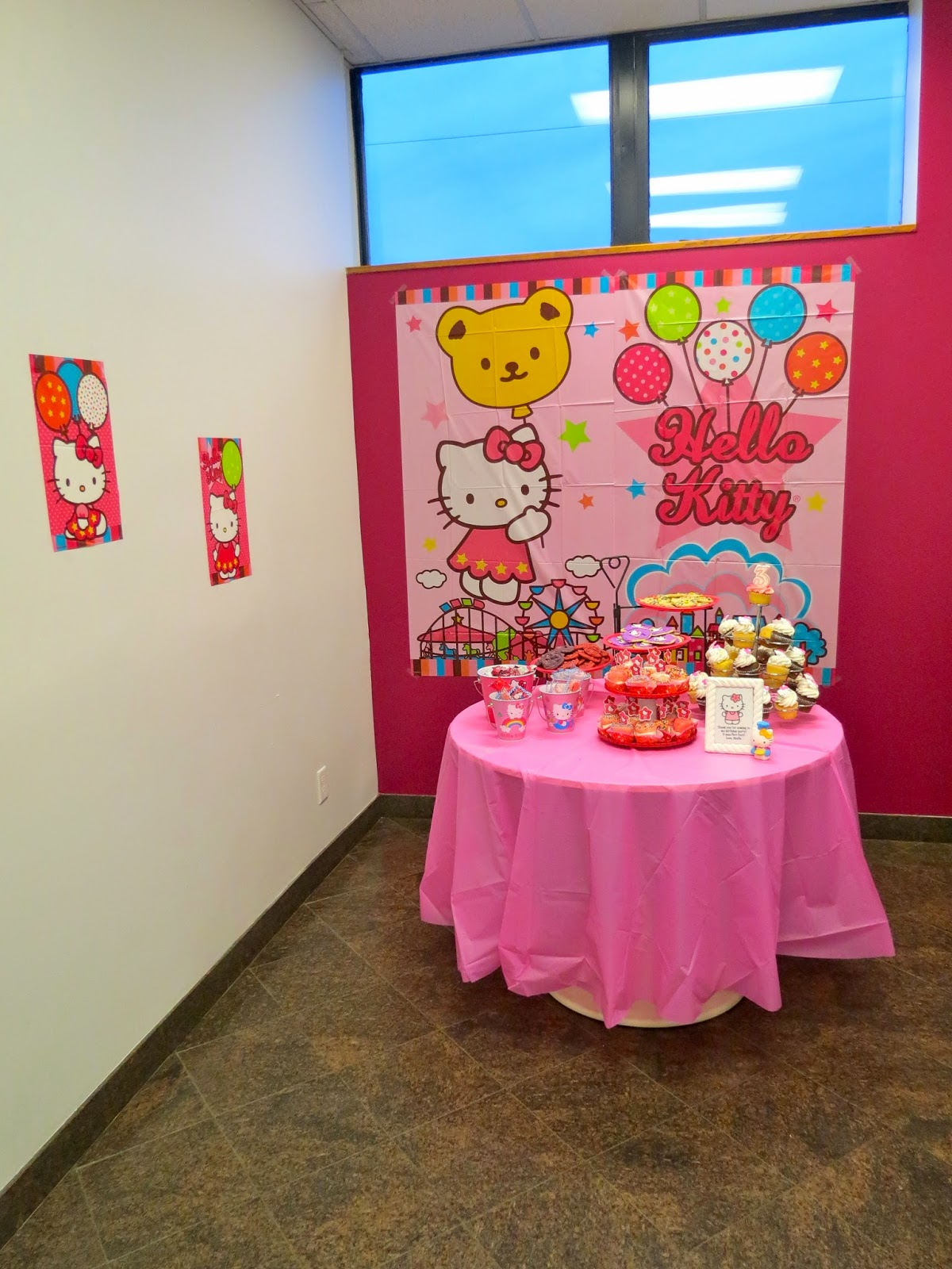 Do it yourself hello kitty party decorations www for Diy kitty