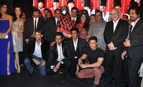 SRK, Aamir, Akshay, Hrithik At 'Yamla Pagla Deewana 2' Music Launch