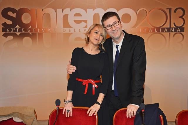 Fabio Fazio e Luciana Littizzetto presentano Sanremo 2014