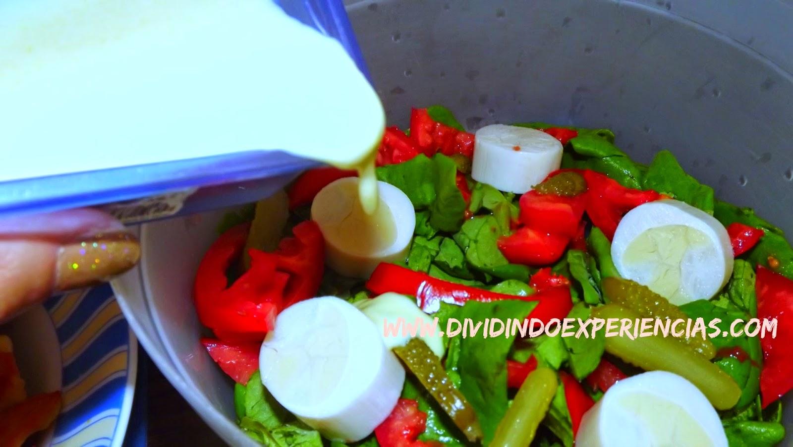 Molho para salada refrescante de mostarda e mel
