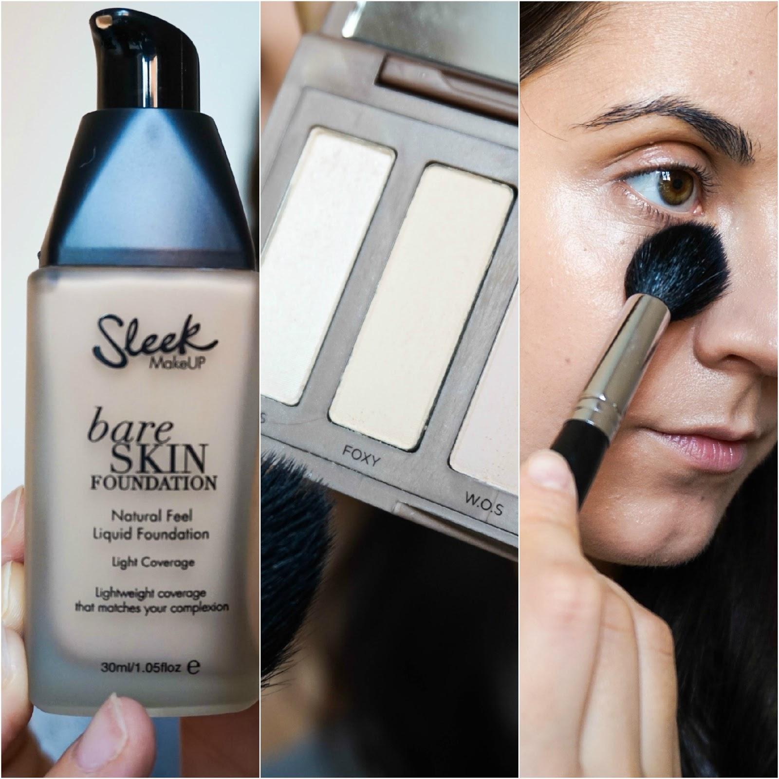 Sleek Bare Skin Foundation, Urban Decay Naked Basics Palette